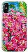 Hawthorn Blossom IPhone Case