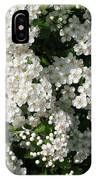 Hawthorn In Bloom IPhone Case