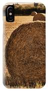 Hay Bales 2 IPhone Case