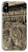 Hay Barn IPhone Case