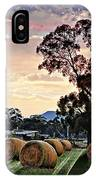 Hay Morning IPhone Case