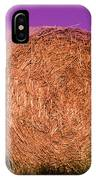 Hay Roll IPhone Case