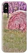 Hay Stack IPhone X Case