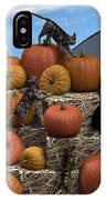 Haycats N' Pumpkins IPhone Case