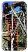 Haywood Cc Grist Mill Wheel IPhone Case