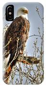 Hdr Bald Eagle IPhone Case