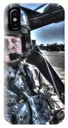 Hdr Image Of A Pilot Equipped IPhone Case