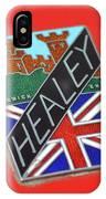 Healey Silverstone D Type IPhone Case