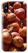 Heap Of Pumpkins IPhone Case