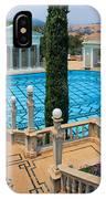 Hearst Castle Neptune Pool IPhone Case