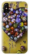 Heart Box Full Of Marbles IPhone Case