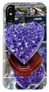 Heart Of Amethyst IPhone Case