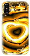 Heart Of Gold IPhone Case