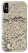 Heart Of Sand IPhone Case