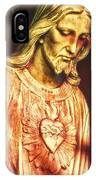 Heart Of The Savior IPhone Case
