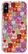 Heart Patches IPhone Case