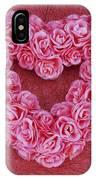 Heart-shaped Floral Arrangement IPhone Case