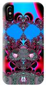 Hearts Ballet Curtain Call Fractal 121 IPhone Case