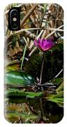 Heat Of The Afternoon - Down At The Lily Pond Iv IPhone Case