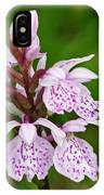 Heath Spotted Orchid IPhone Case