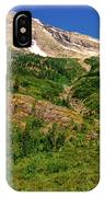 Heavens Peak Glacier International Peace Park IPhone Case