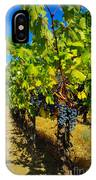 Heavy On The Vine At The High Tower Winery  IPhone Case