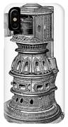 Hecla Oven Stove, 1875 IPhone Case