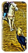 Heeled Steer IPhone Case