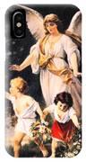 Heiliger Schutzengel  Guardian Angel 6 Pastel IPhone Case