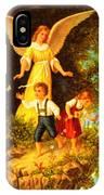 Heiliger Schutzengel Guardian Angel 8 Oil IPhone Case