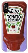 Heinz Tomato Ketchup IPhone X Case