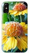 Helenium Flowers 1 IPhone Case