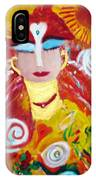 Helianna - Angel Of Divine Serenity IPhone Case