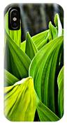 Hellebore And Aspens IPhone Case