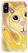 Hello Little Kitty IPhone Case