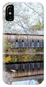 Hemlock Covered Bridge IPhone Case