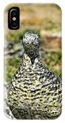 Partridge 3 IPhone Case