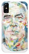 Henry Miller Portrait.1 IPhone Case