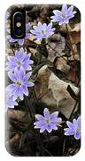 Hepatica IPhone Case