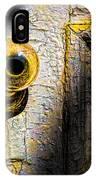 Her Glass Doorknob IPhone Case