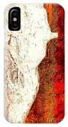 Her Red Silhouette IPhone Case