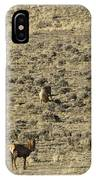 Herd Of Elk   #3218 IPhone Case