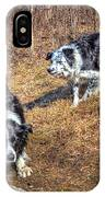 Herder And Herded IPhone Case