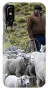 Herding Sheep Patagonia 3 IPhone Case