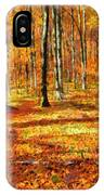 Here Comes Fall IPhone Case
