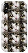 Here Kitty Kitty Close Up 25 IPhone X Case