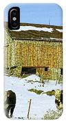 Hereford Barn Painting IPhone Case