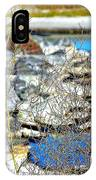 Hereford Inlet Rock Formations IPhone Case