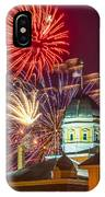 Hermann Mo Courthouse On July 4th IPhone Case