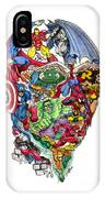 Heroic Mind IPhone Case